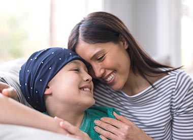 Parent carers Child with cancer