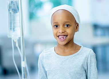 Enfant atteint de cancer